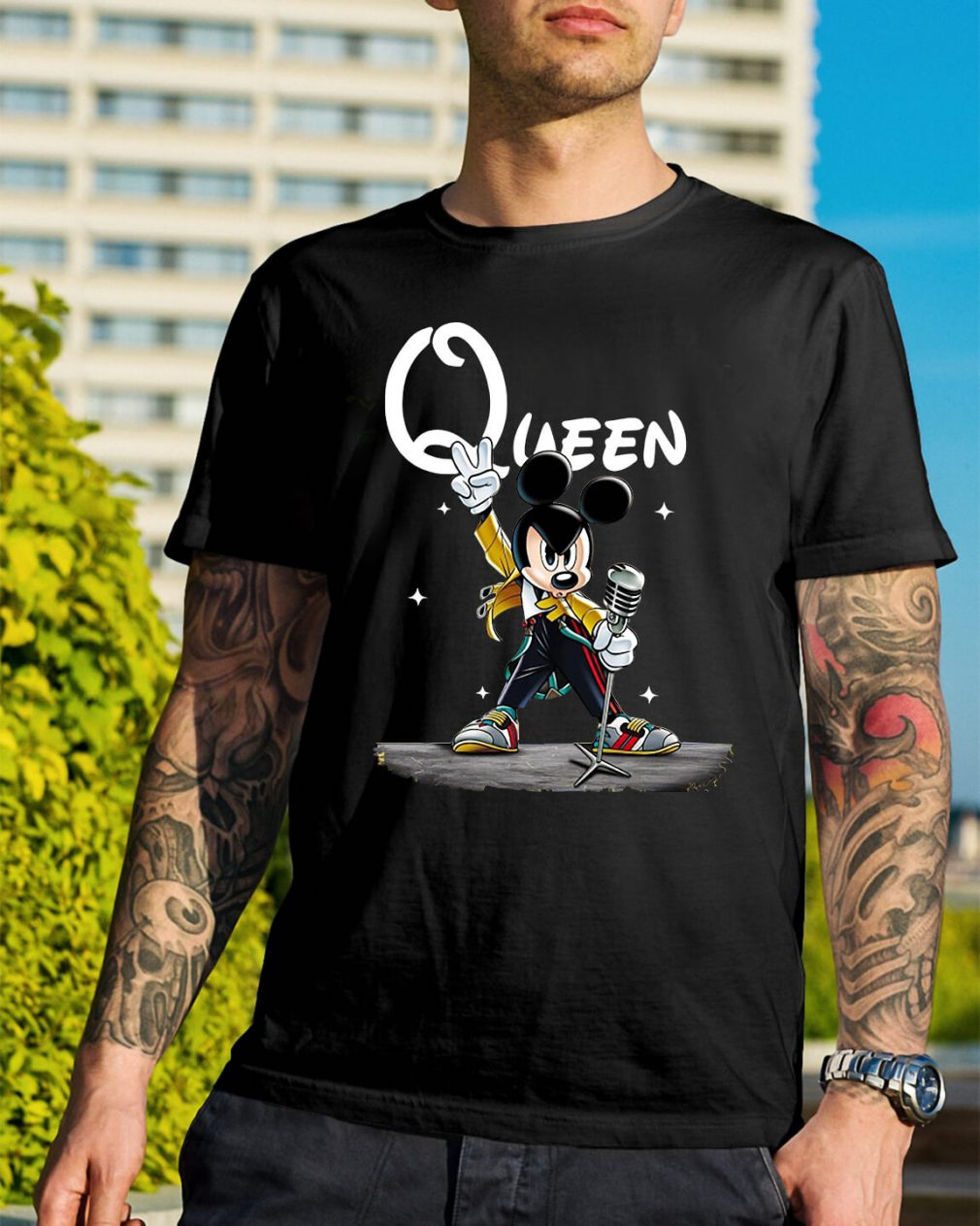 Queen Mickey mouse singing shirt