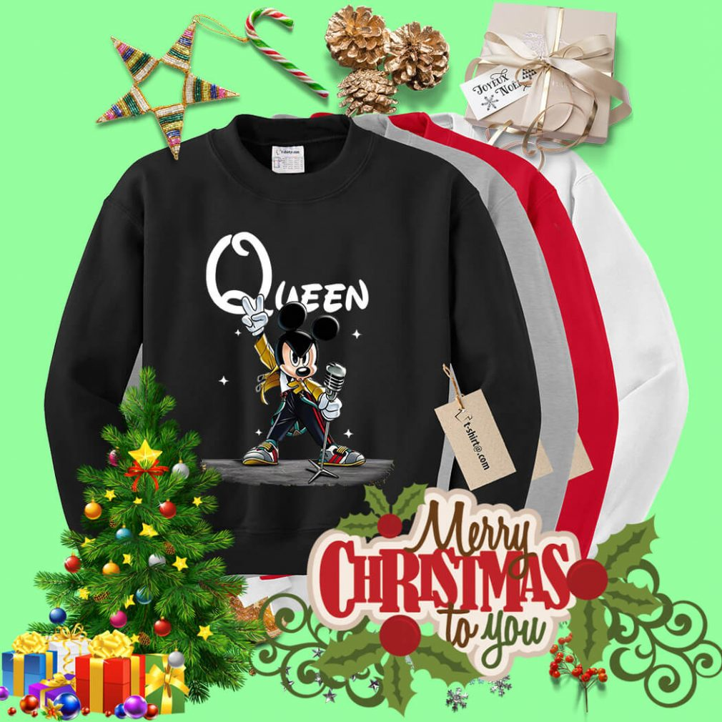Queen Mickey mouse singing Sweater