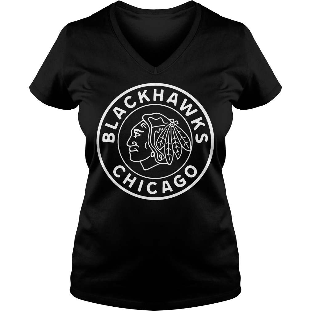 Reebok Blackhawks Chicago V-neck T-shirt
