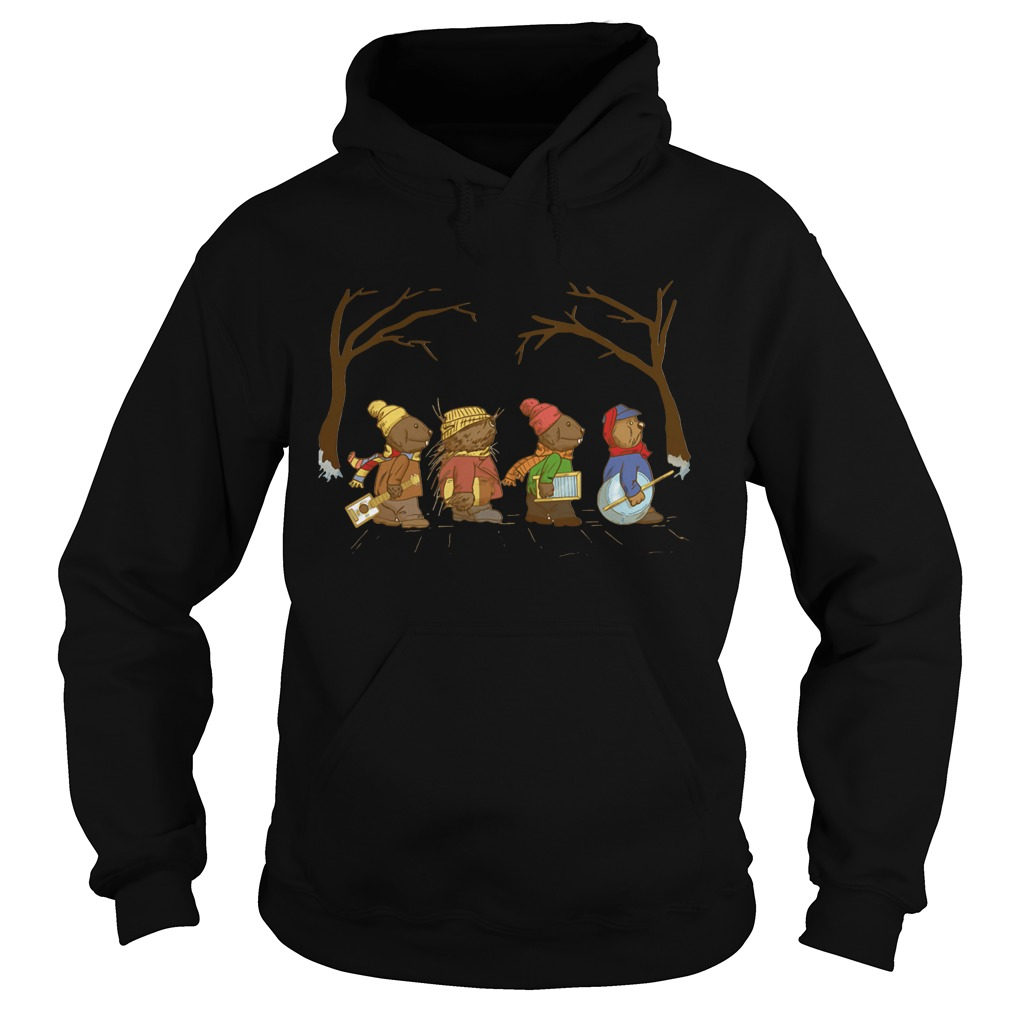 Riverbottom Nightmare Band Abbey Road Christmas Hoodie