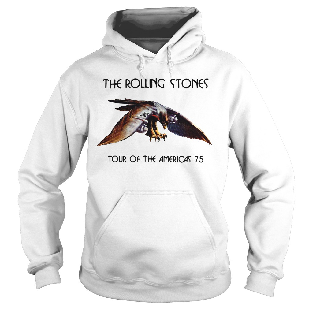 The rolling stone tour of the Americas 75 Hoodie