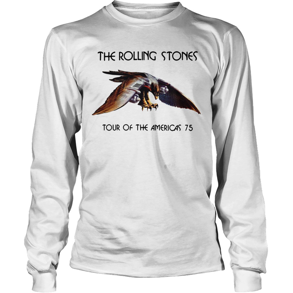 The rolling stone tour of the Americas 75 Longsleeve Tee