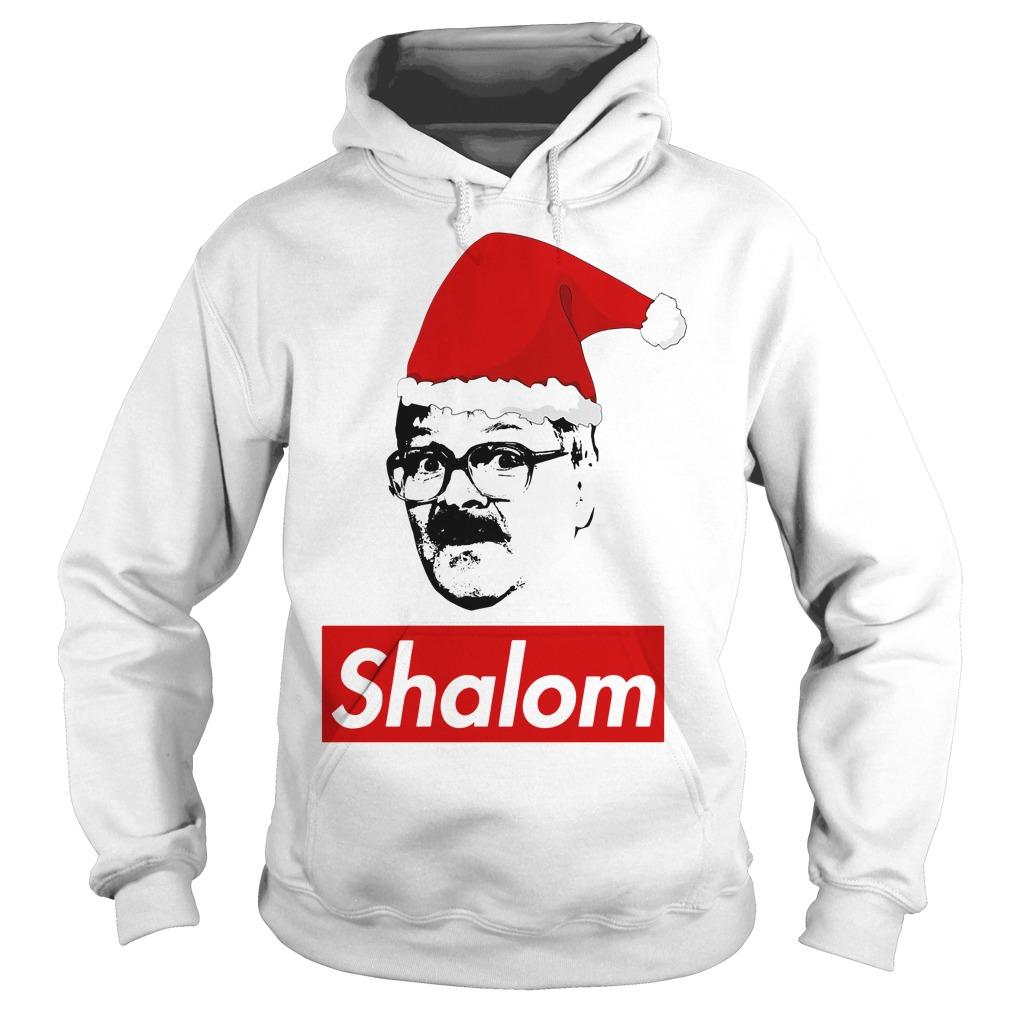Shalom Santa Christmas Hoodie