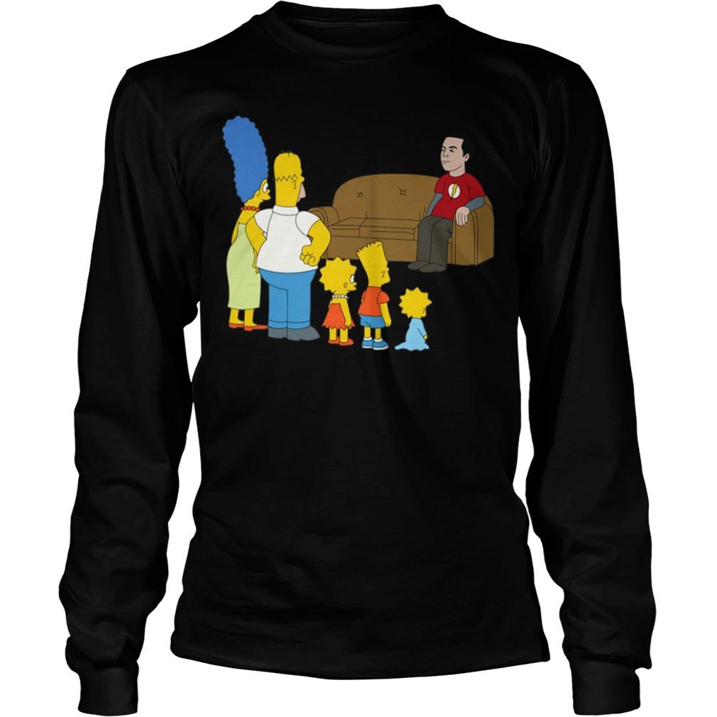 The Simpsons Sheldon Cooper - Bazinga Longsleeve Tee
