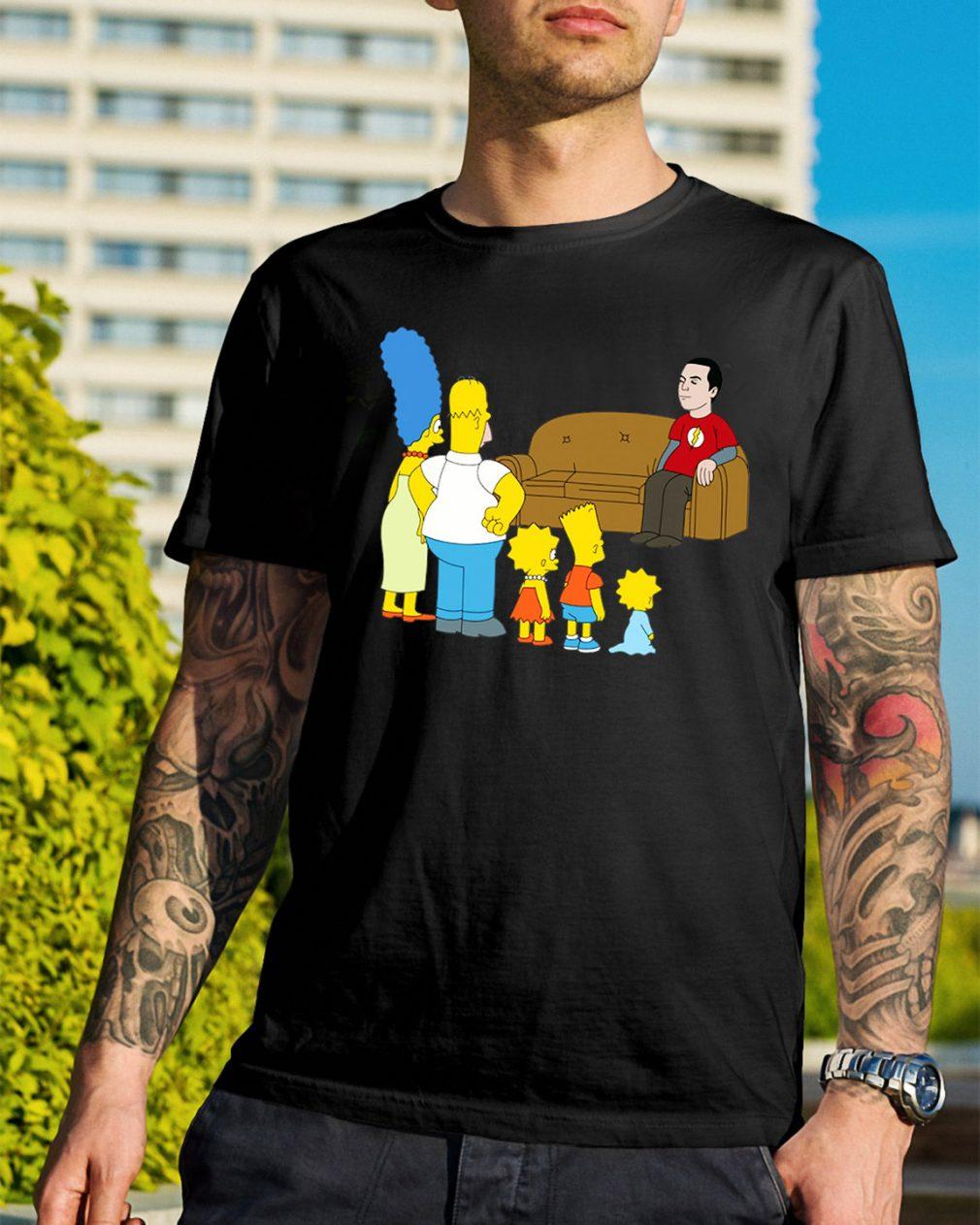 The Simpsons Sheldon Cooper - Bazinga shirt
