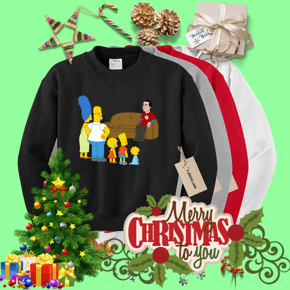 The Simpsons Sheldon Cooper - Bazinga Sweater