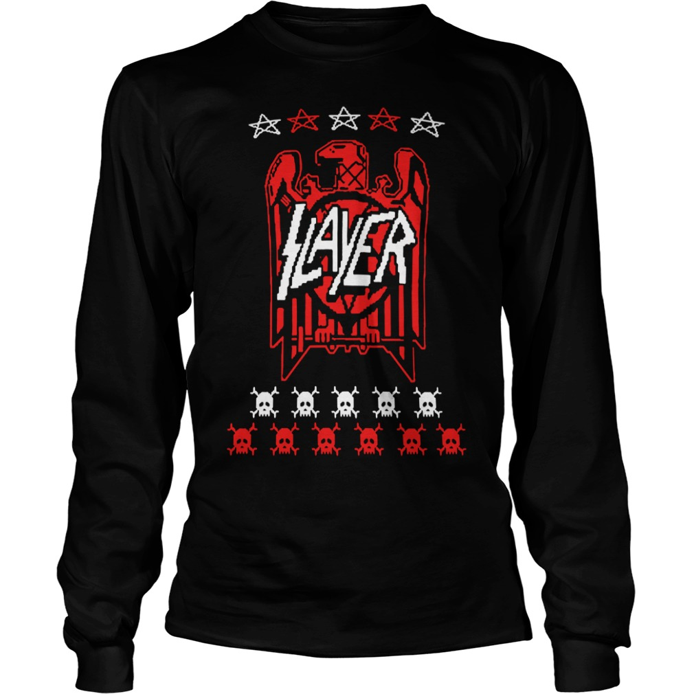 Slayer eagle skull Longsleeve Tee