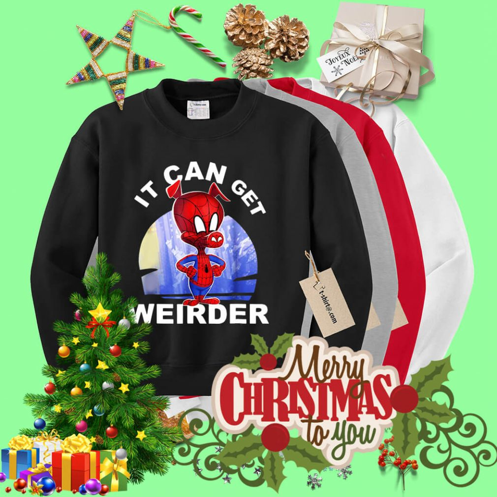 Spider Man Ham it can get Weirder Sweater