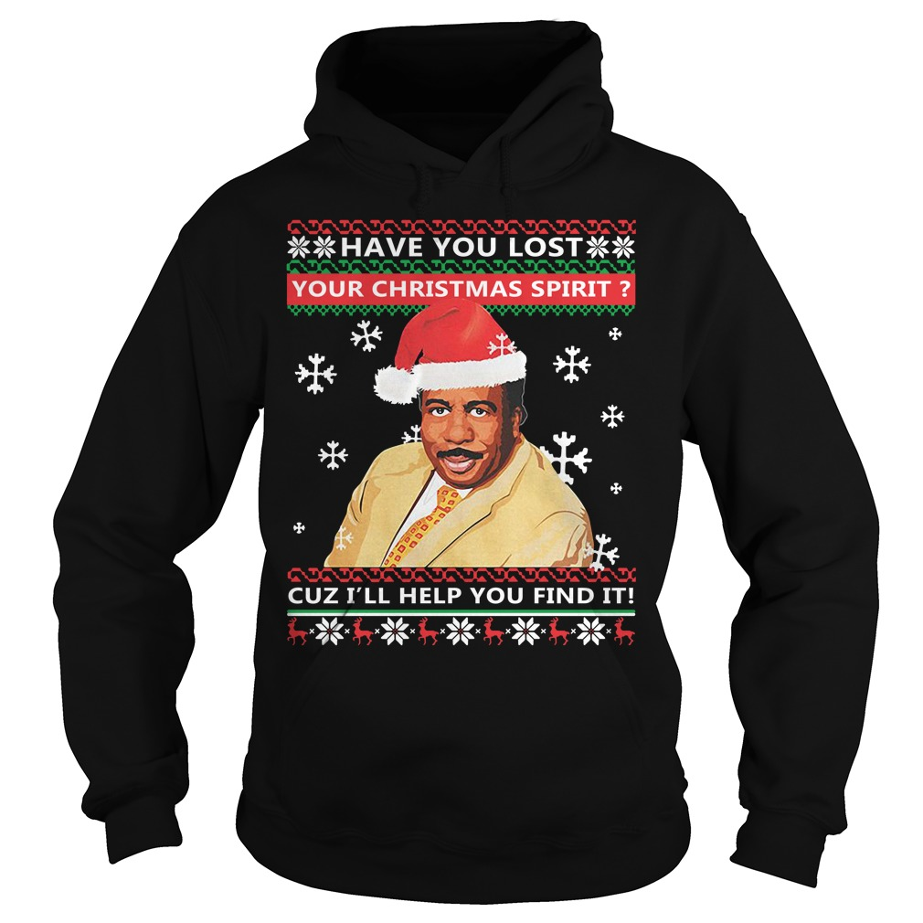 Steve Harvey have you lost your Christmas spirit cuz ugly Hoodie