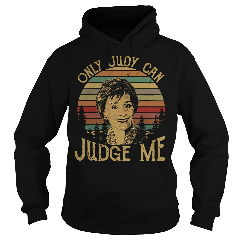 Sunset only Judy can Judge me Hoodie