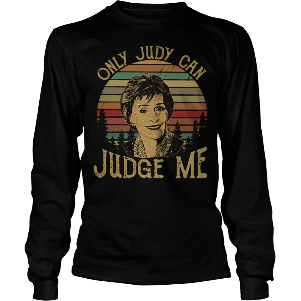 Sunset only Judy can Judge me Longsleeve Tee