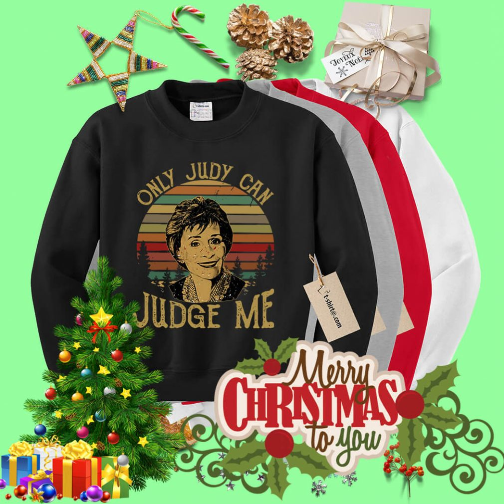 Sunset only Judy can Judge me Sweater