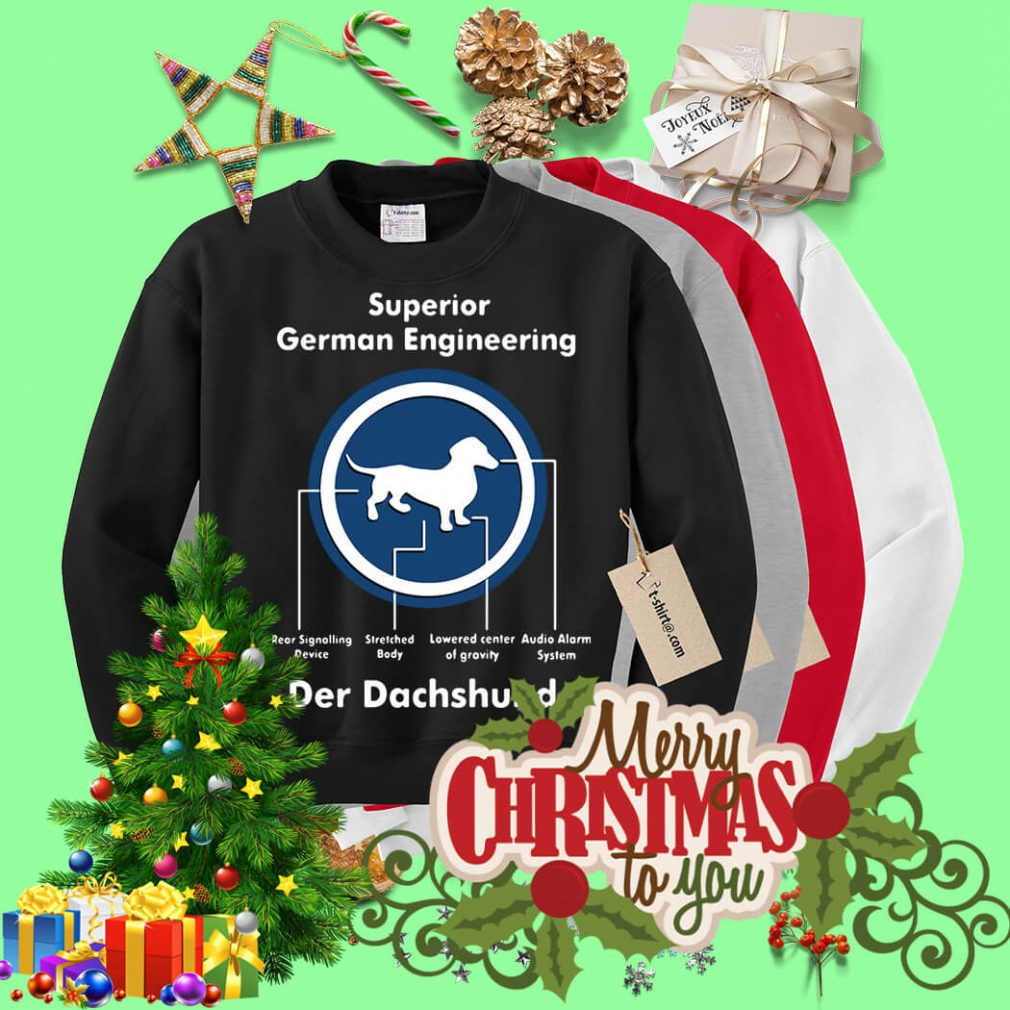 Superior German Engineering der Dachshund Sweater
