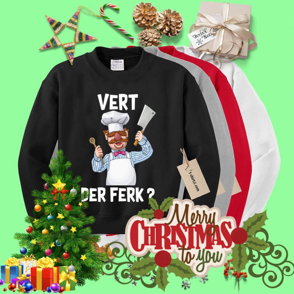 Swedish Chef vert der ferk Sweater