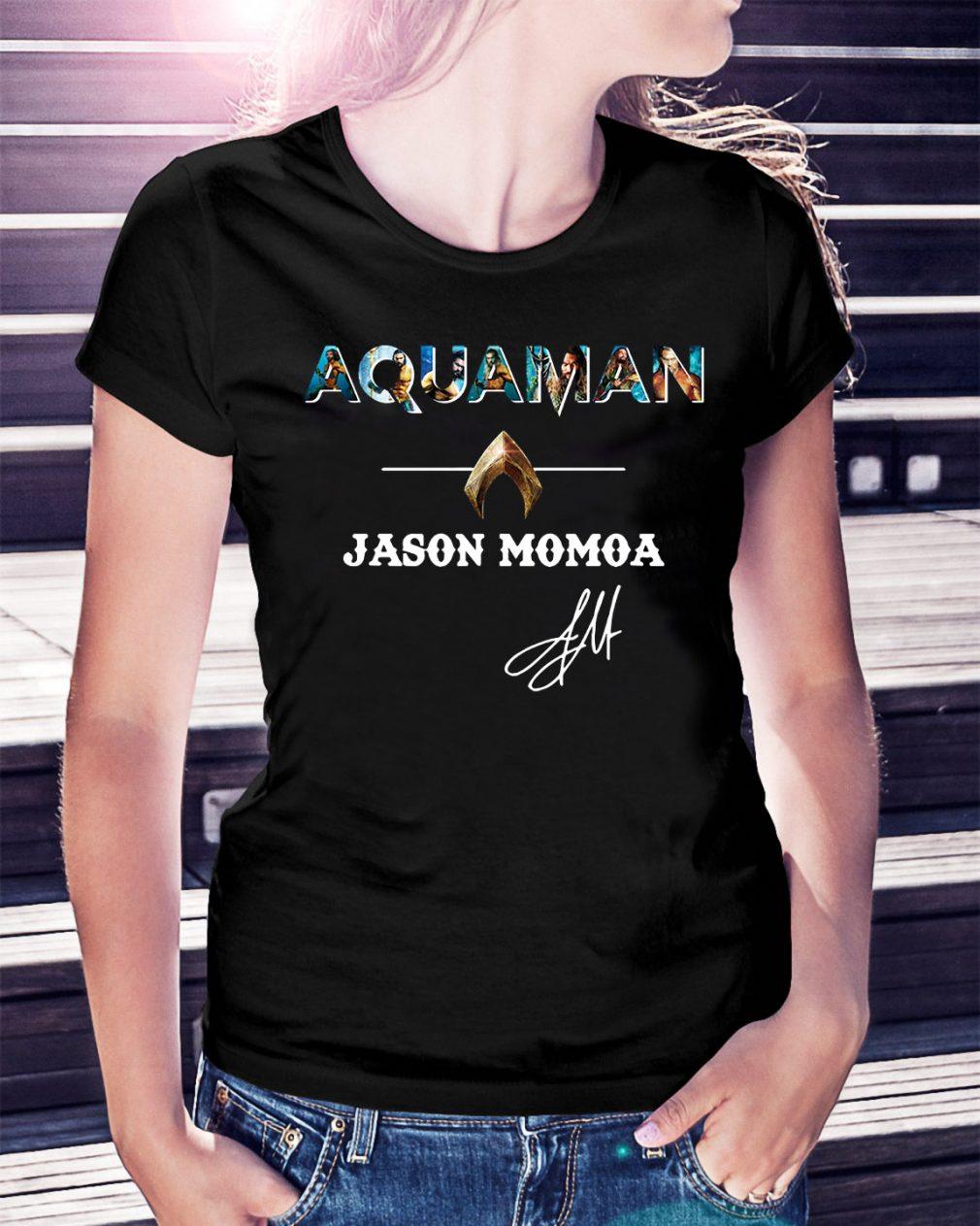 The Atlantis Aquaman Jason Momoa Ladies Tee
