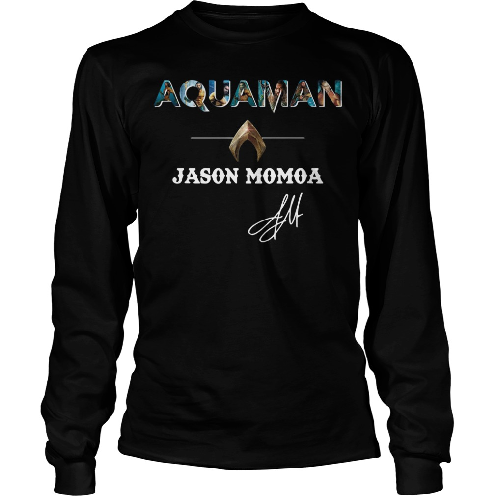 The Atlantis Aquaman Jason Momoa Longsleeve Tee