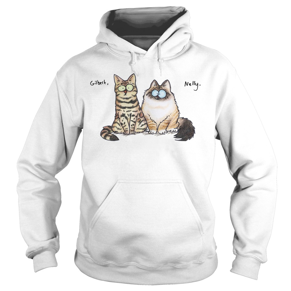 The Cats Nelly and Gilbert Hoodie
