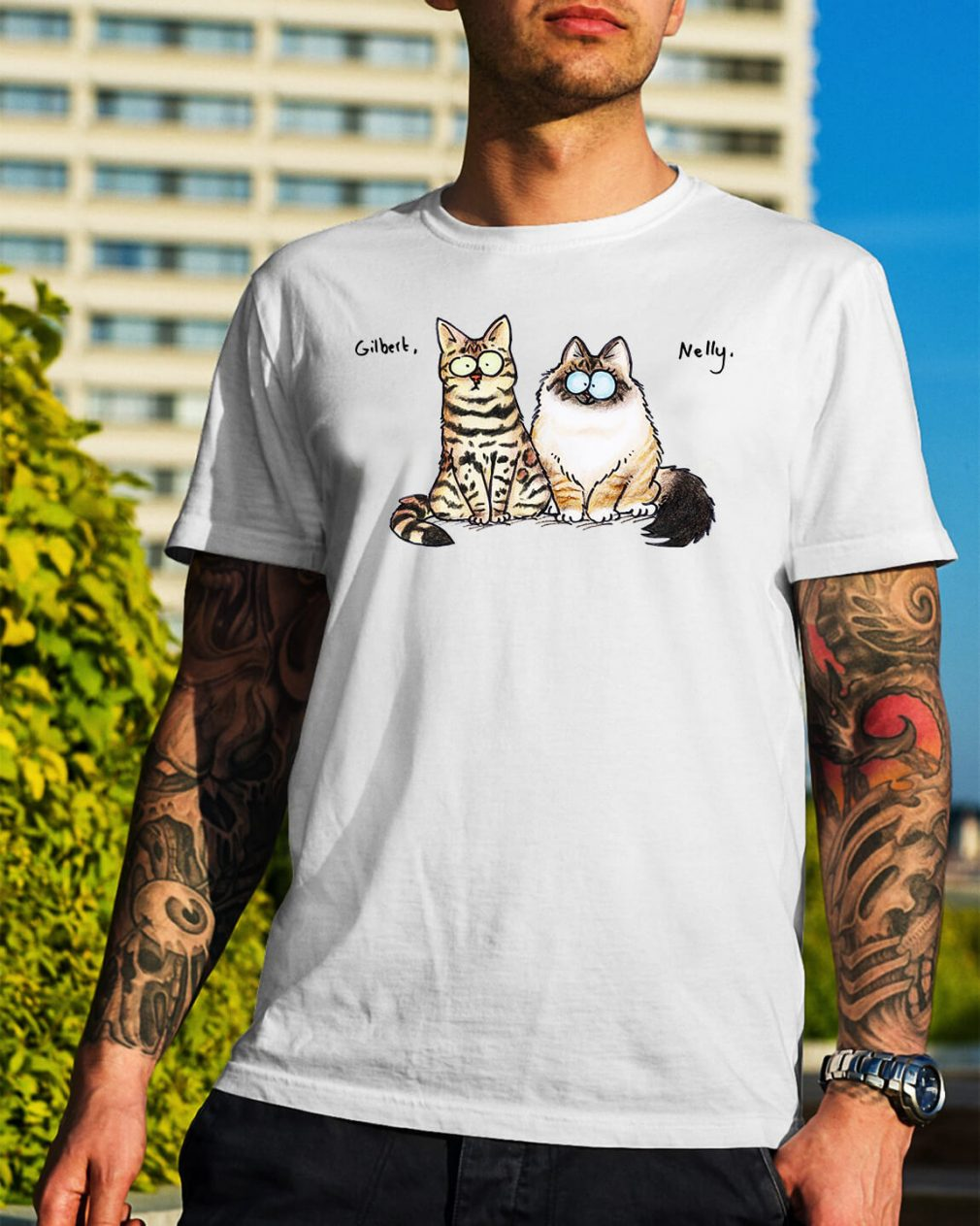 The Cats Nelly and Gilbert shirt