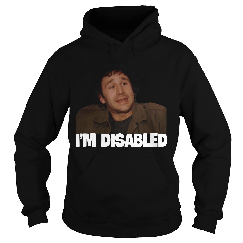 The IT Crowd I'm Disabled Hoodie