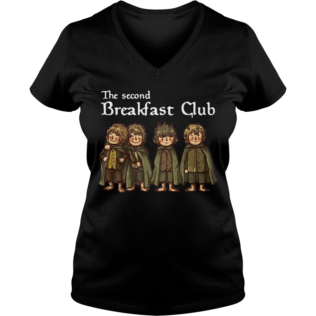 The second Breakfast Club V-neck T-shirt