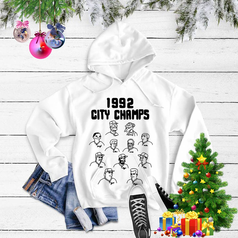 The Simpsons 1992 city champs Sweater
