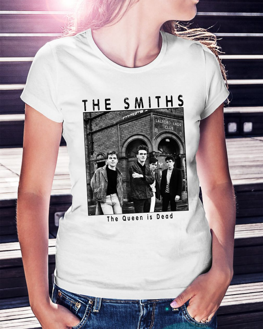 The Smiths the queen is dead Ladies Tee