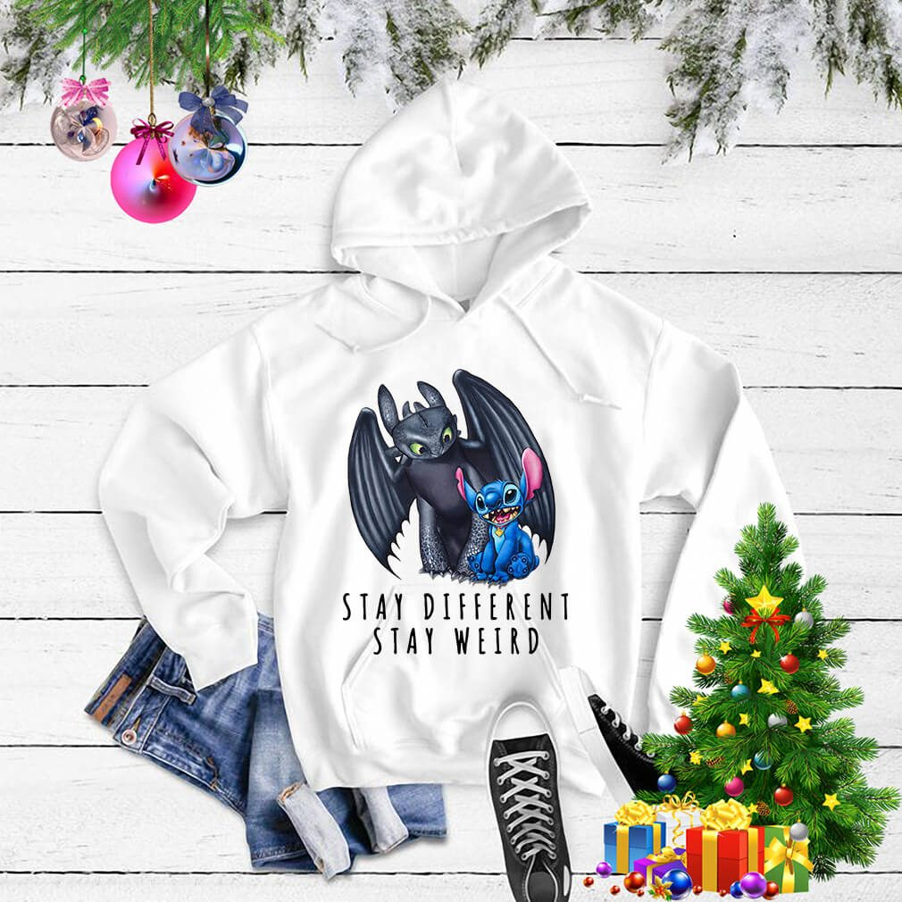 Toothless and Stitch stay different stay weird Sweater