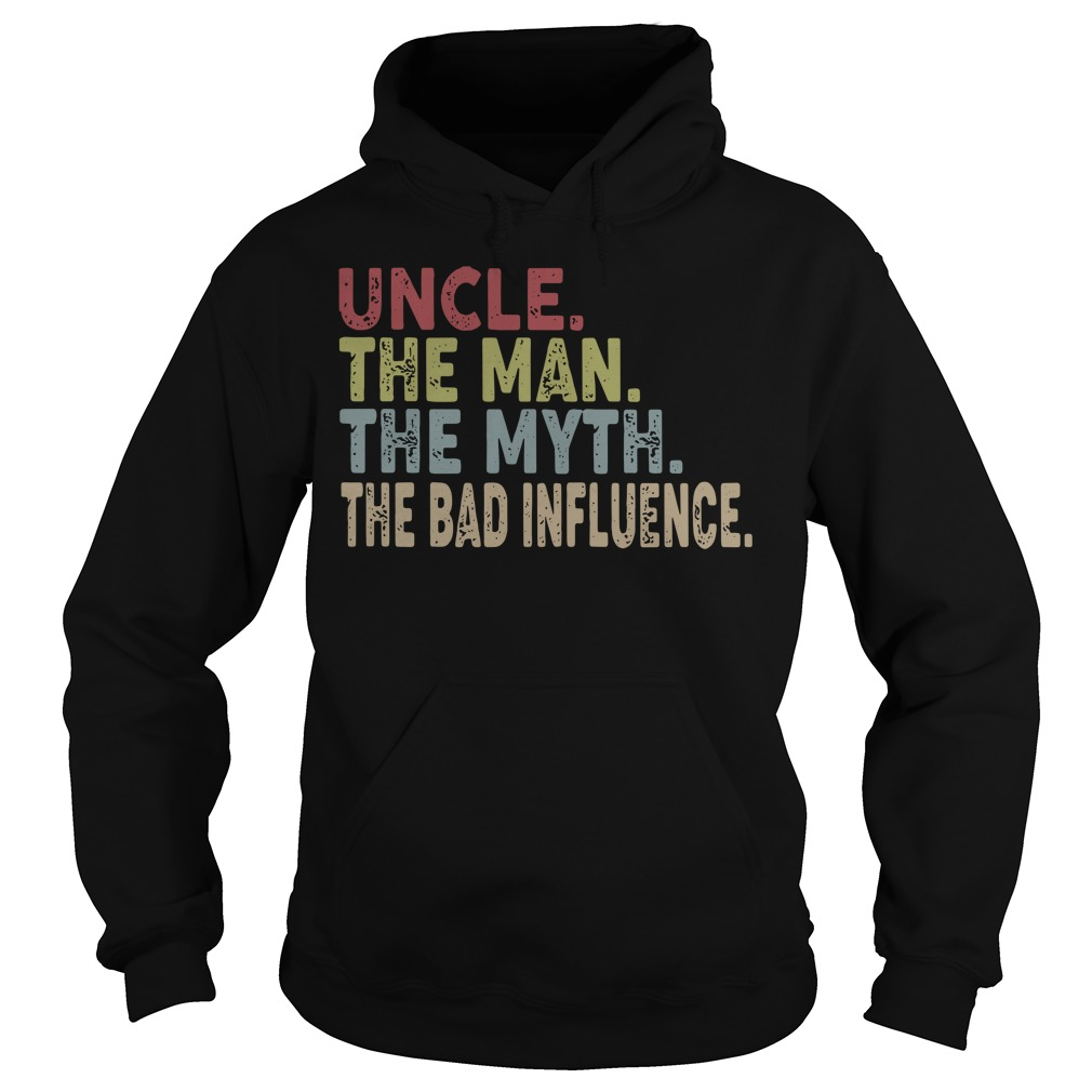 Uncle the man the myth the legend Hoodie