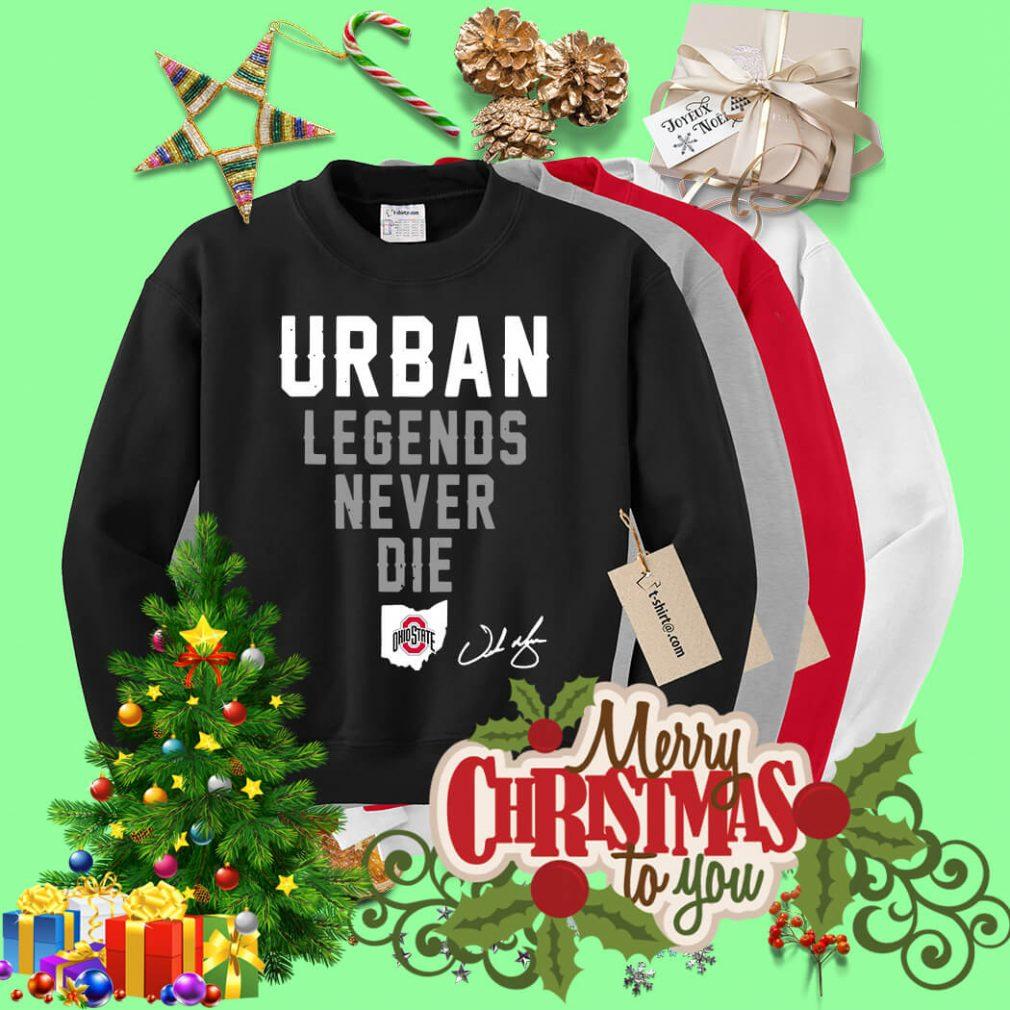 Urban legend never die Ohio State Sweater