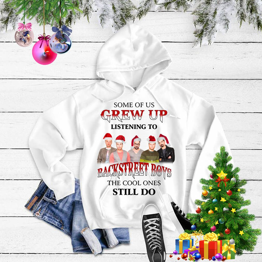 Some of us grew up listening to Backstreet Boys Christmas shirt, sweater