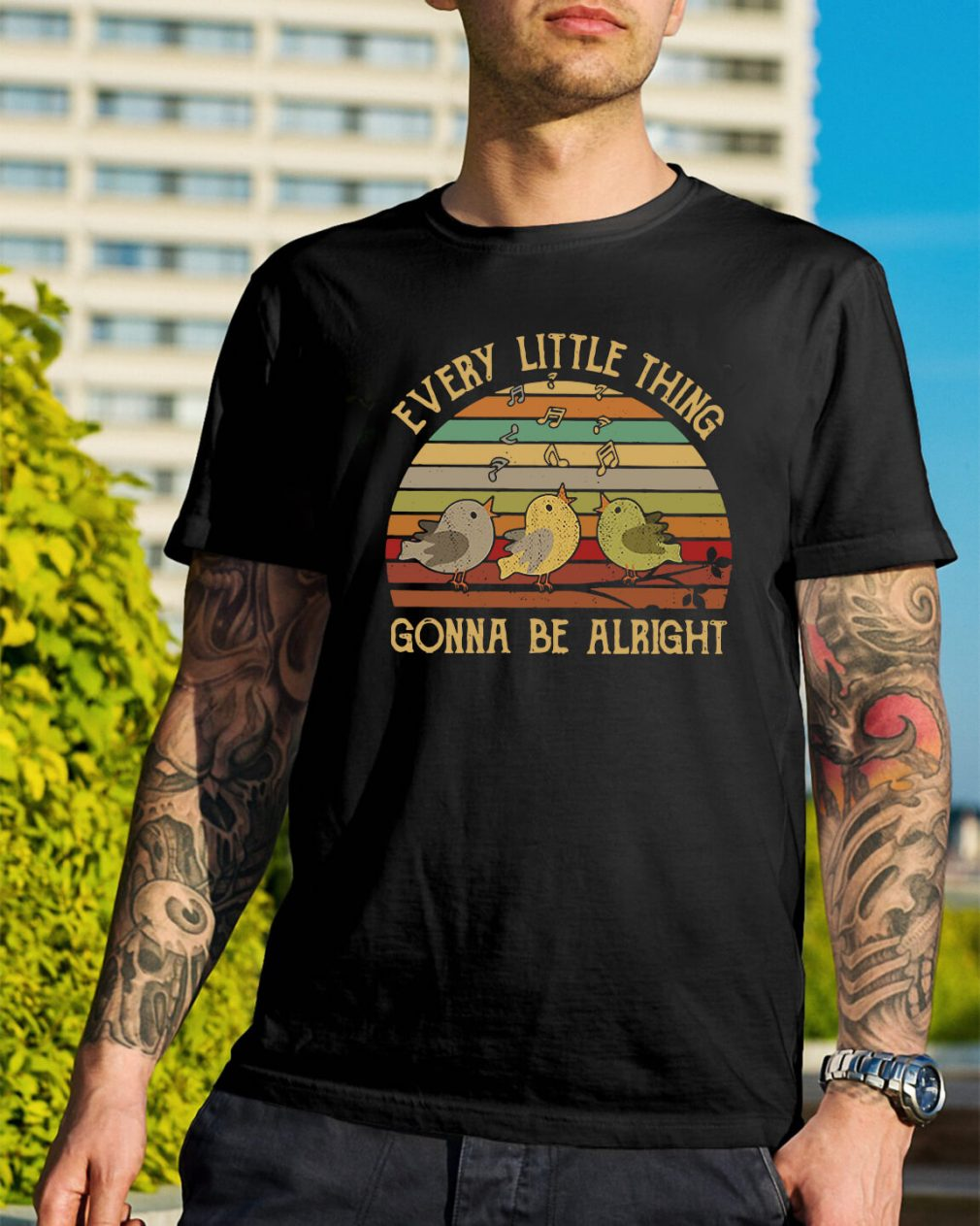 Vintage every little thing gonna be alright shirt