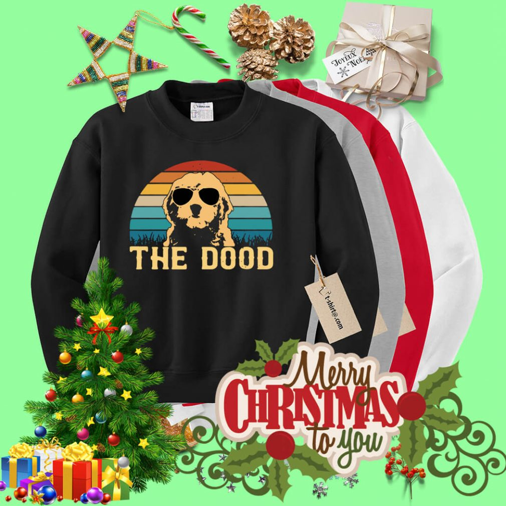 Vintage The Dood Goldendoodle Sweater