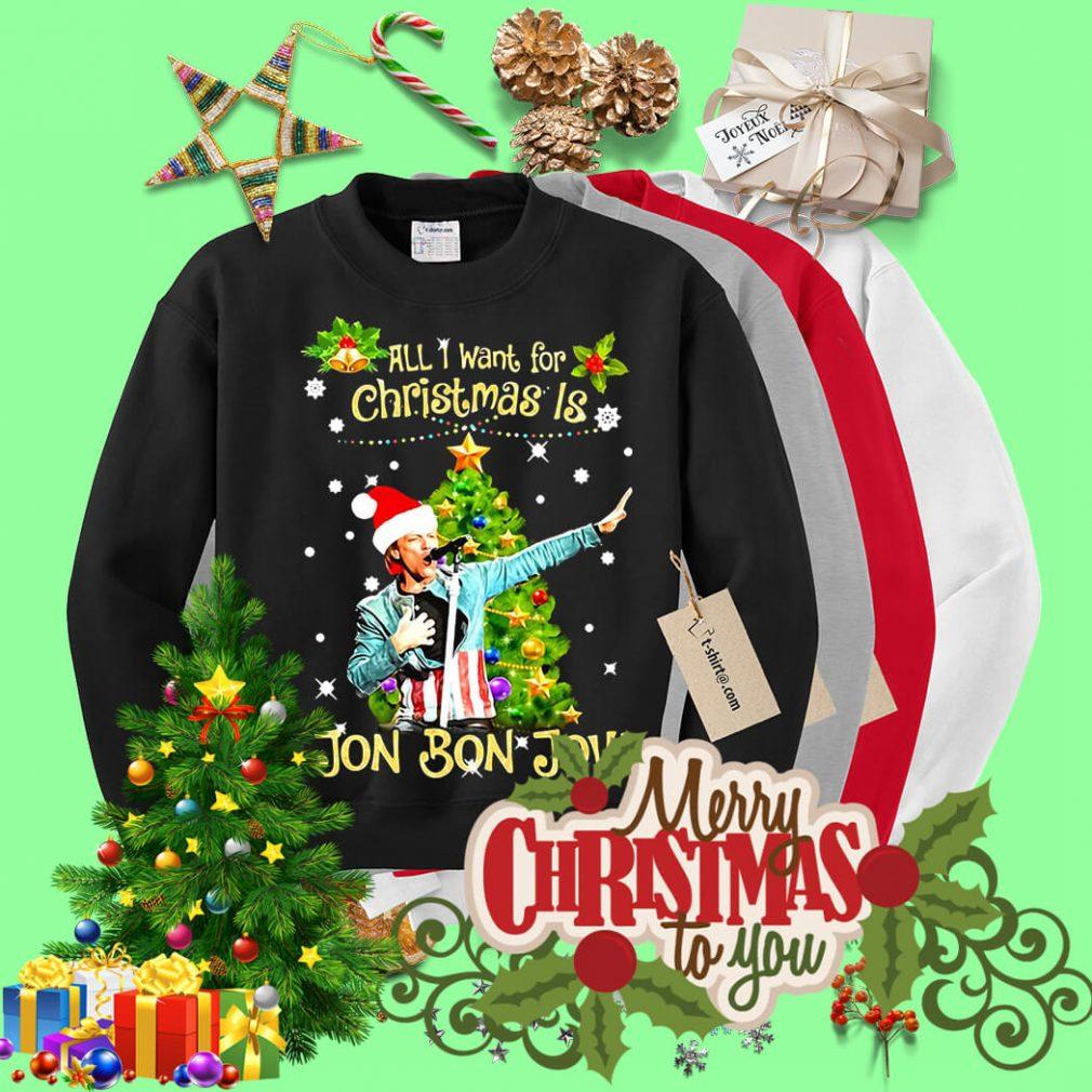 All I want for Christmas is Jon Bon Jovi shirt, sweater