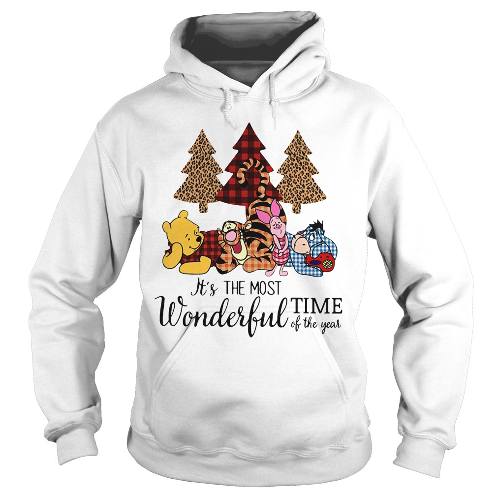 Winnie The Pooh It's the most wonderful time of the year Hoodie