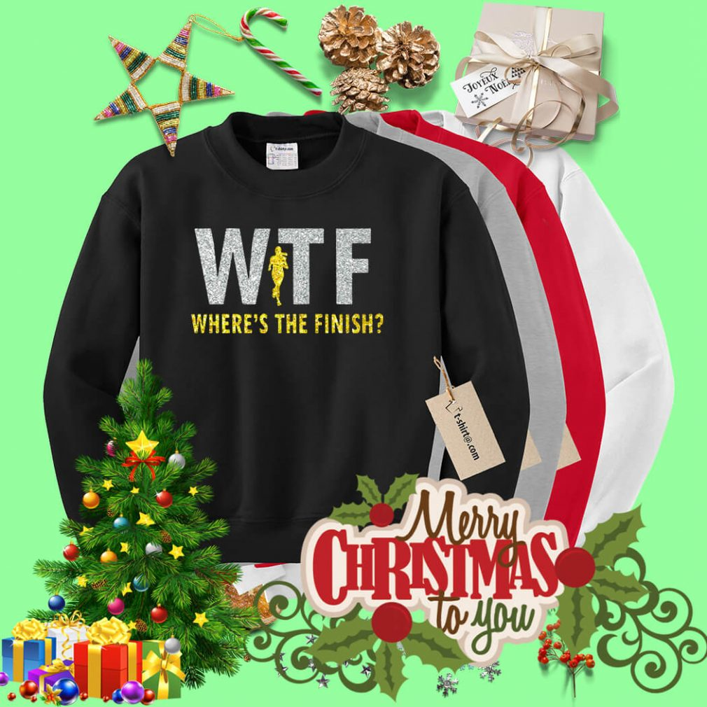 WTF where's the finish Sweater