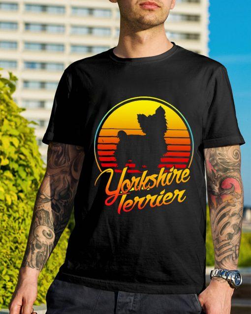 Yorkshire Terrier vintage retro classic shirt
