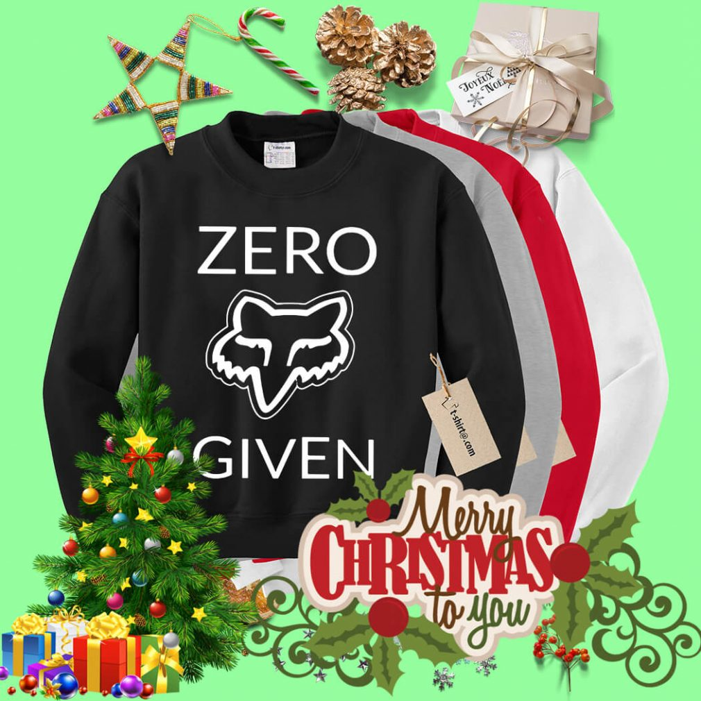 Zero fox given Sweater