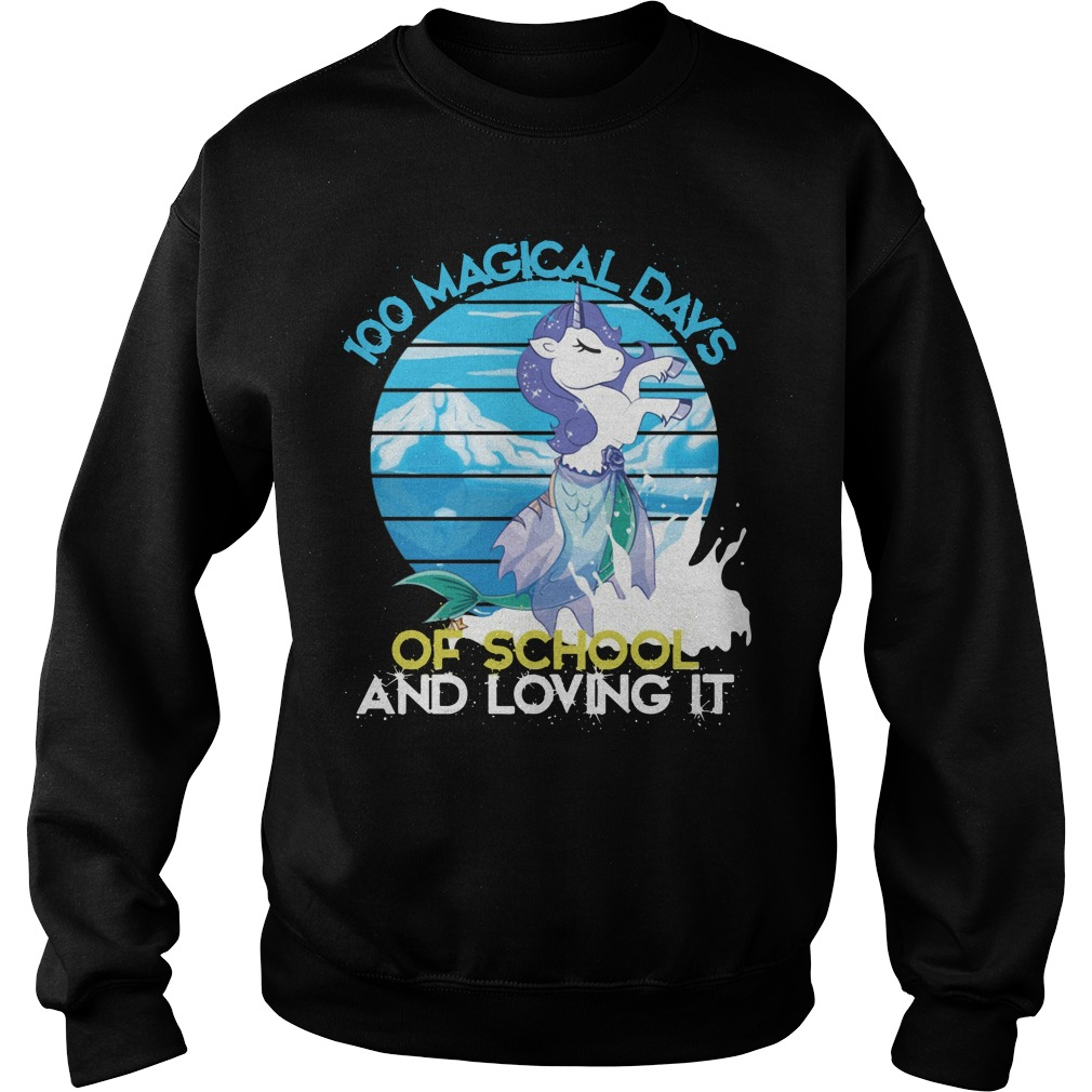 100 magical days of school and loving it Sweater