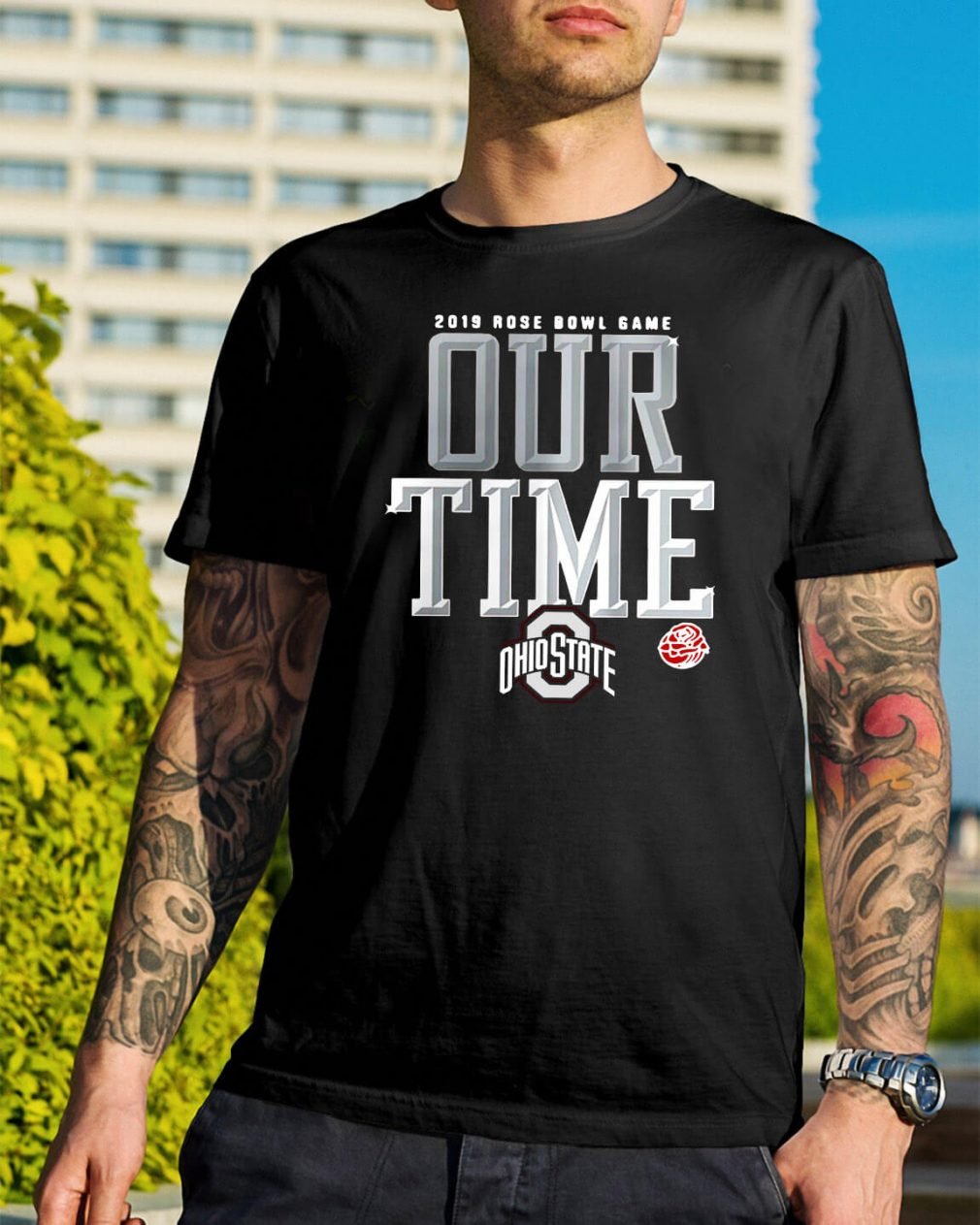 2019 Rose Bowl game our time Ohio State shirt