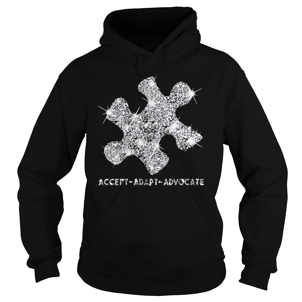 Autism Awareness accept adapt advocate Hoodie