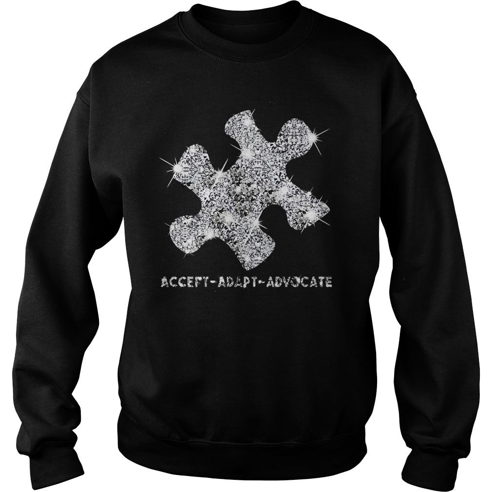 Autism Awareness accept adapt advocate Sweater