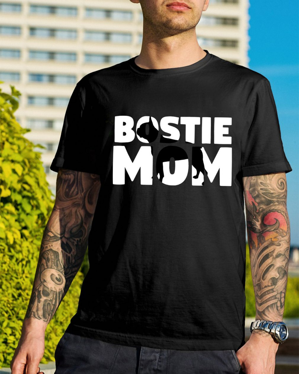 Bostie mom shirt