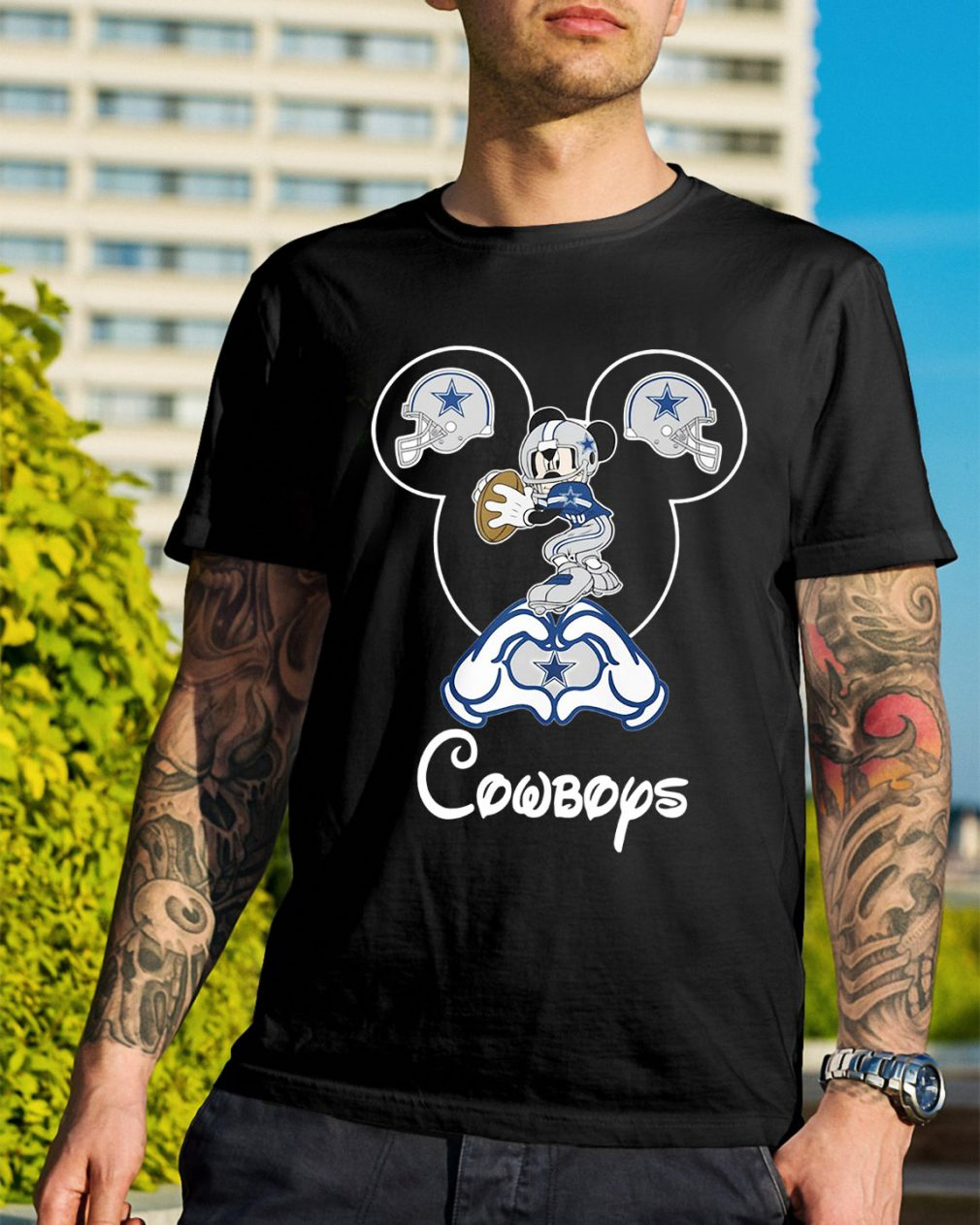 Dallas Cowboys Mickey Mouse shirt