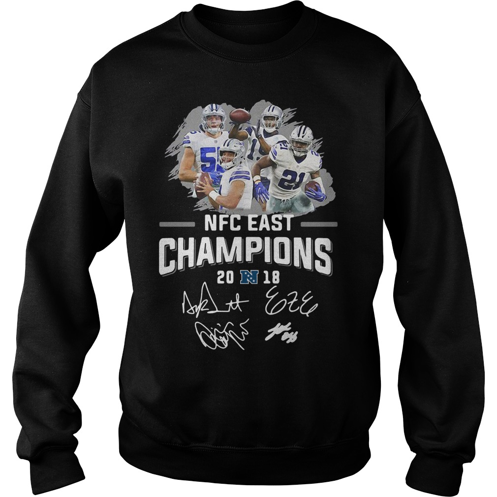 Dallas Cowboys NFC East champions 2018 Sweater