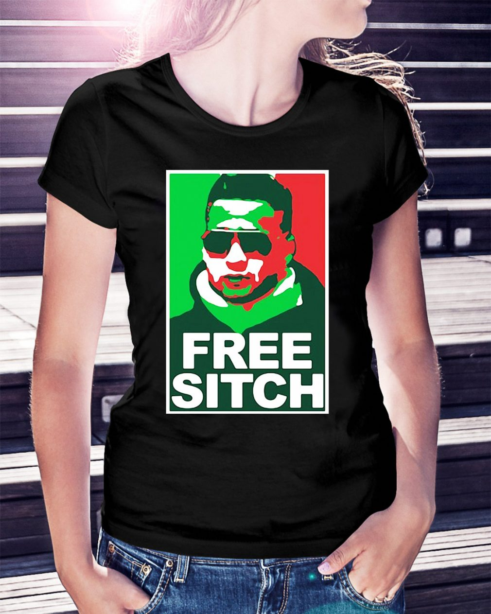 Free Sitch Mike Sorrentino version Ladies Tee