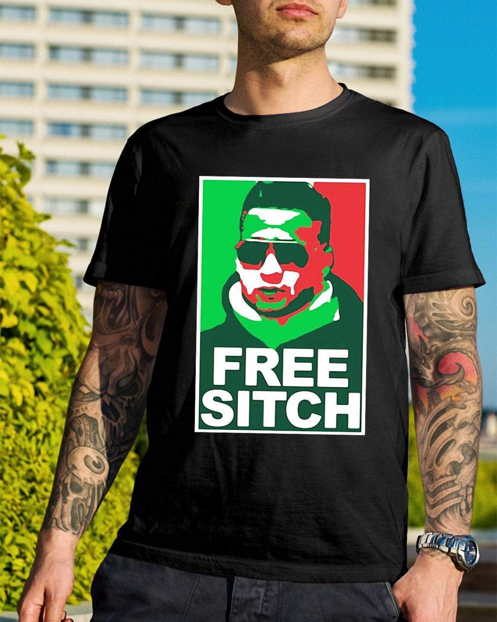 Free Sitch Mike Sorrentino version shirt