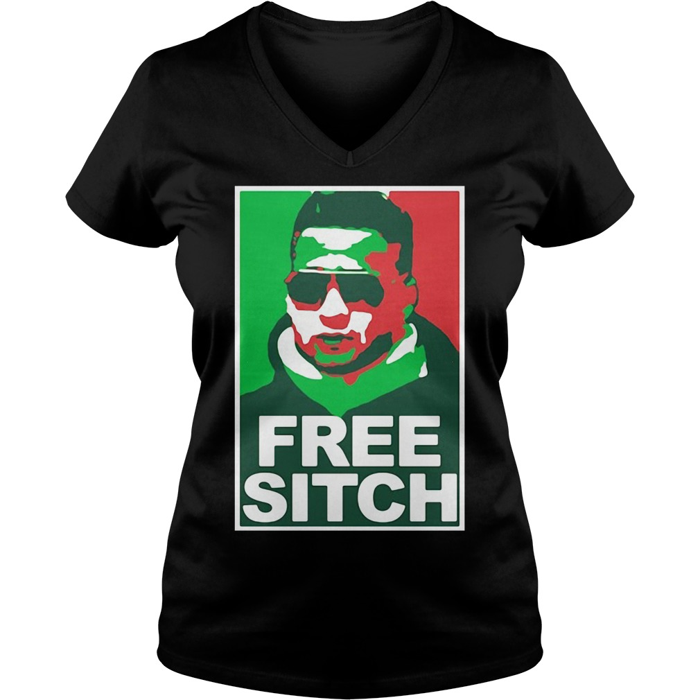 Free Sitch Mike Sorrentino version V-neck T-shirt