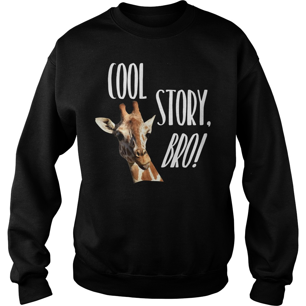 Giraffe cool story bro Sweater