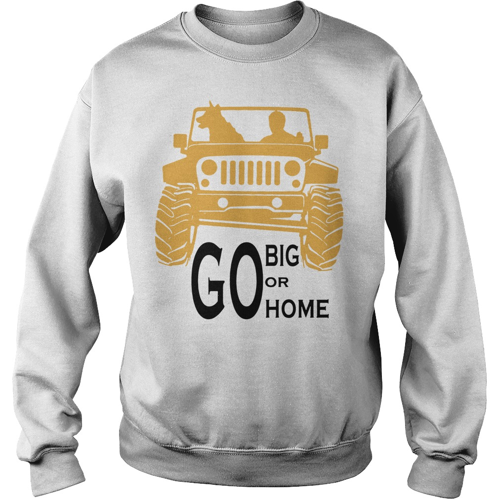 Go big or go home Sweater