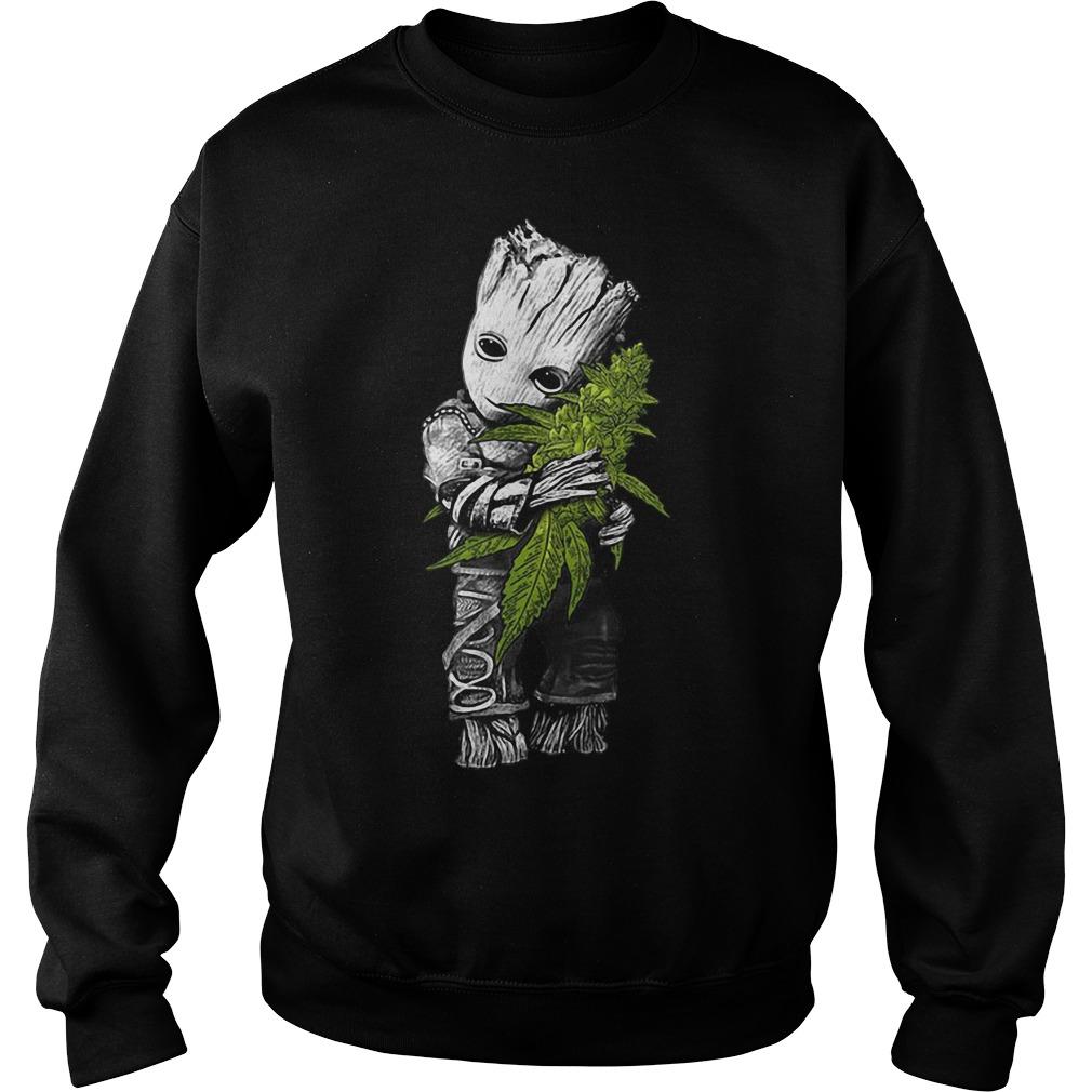 Groot hug weed Sweater